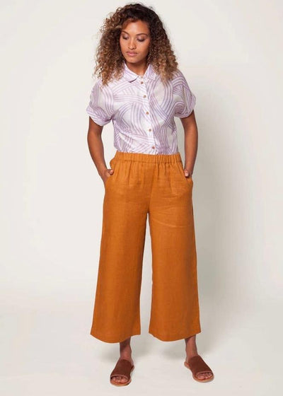 Harper pant | Sustainable linen | Rue Saint Paul