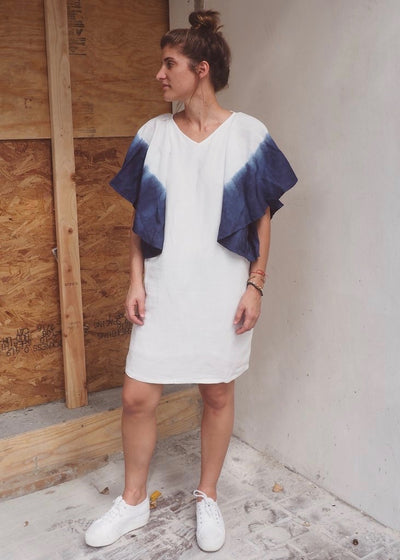Sleeves tie-dyed dress | Sustainable closet | Rue Saint Paul