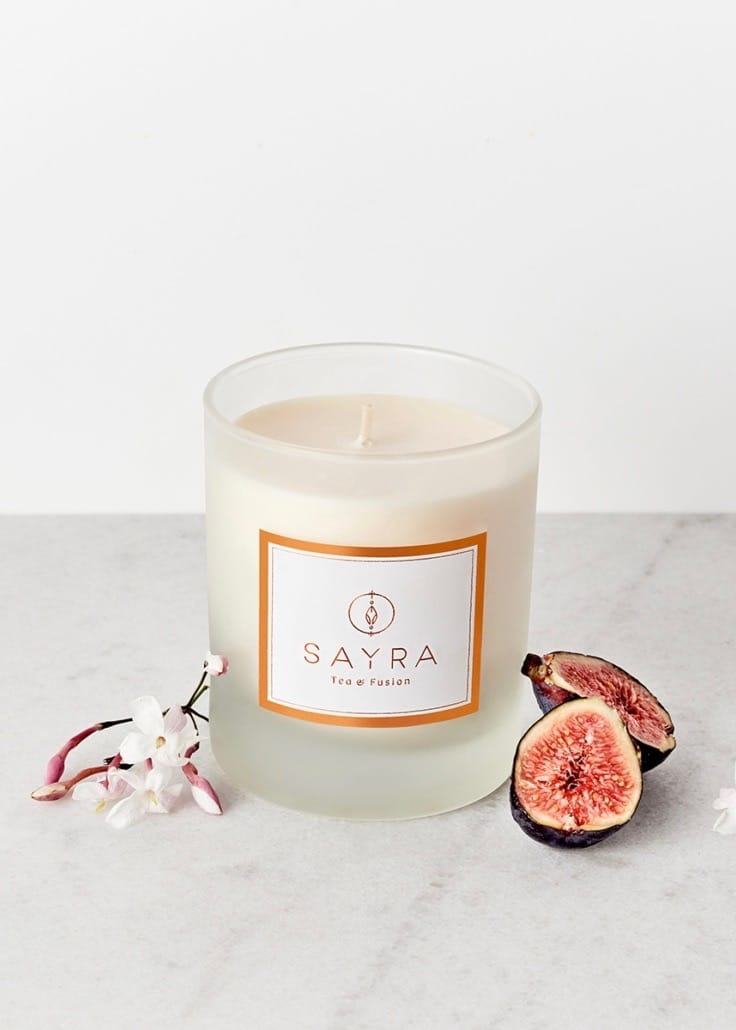 Figue Enchantée Vegetable Wax Candle | Fig, Jasmine, Citrus | Rue Saint Paul