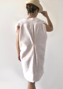 Pale pink linen dress | Sustainable Closet |  Rue Saint Paul