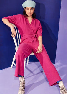 Pink jumpsuit | By Eve Gravel | Rue Saint Paul