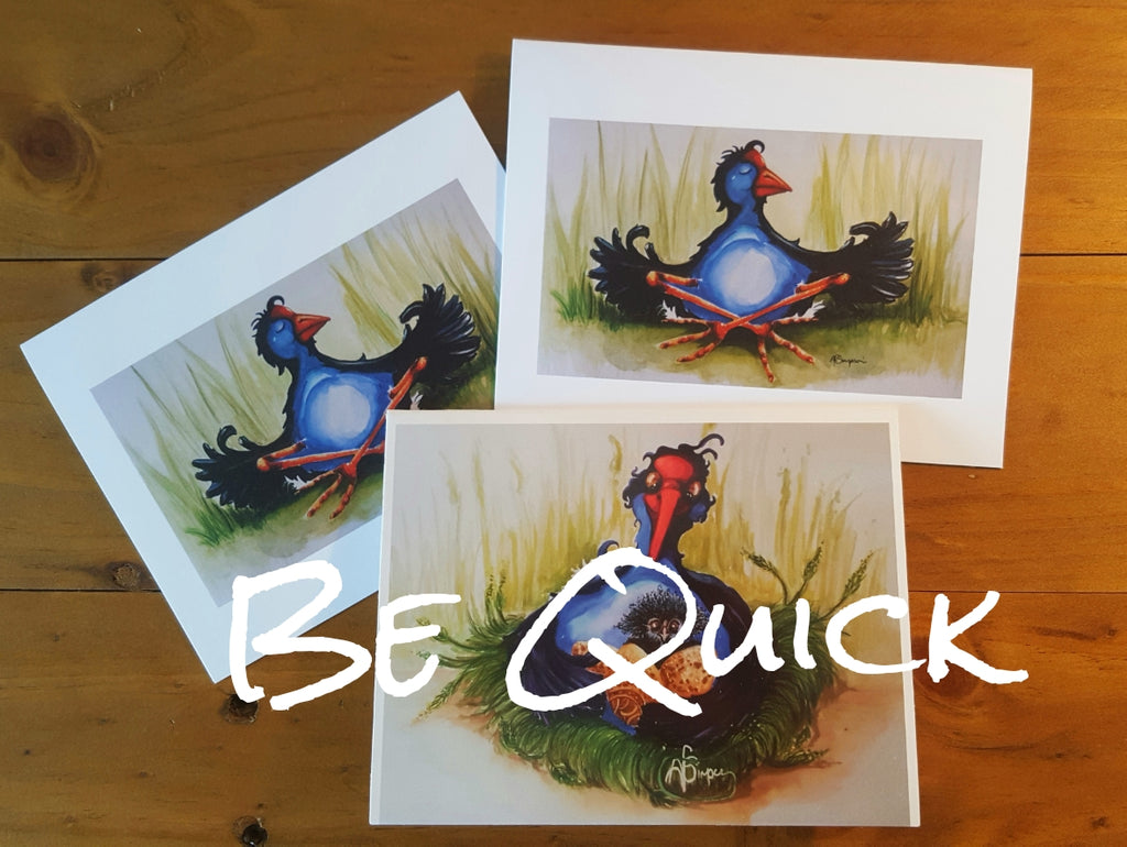Pukeko (3pk) Greeting Cards