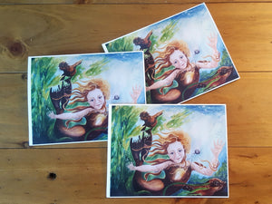 Selkie Greeting Card 3pk