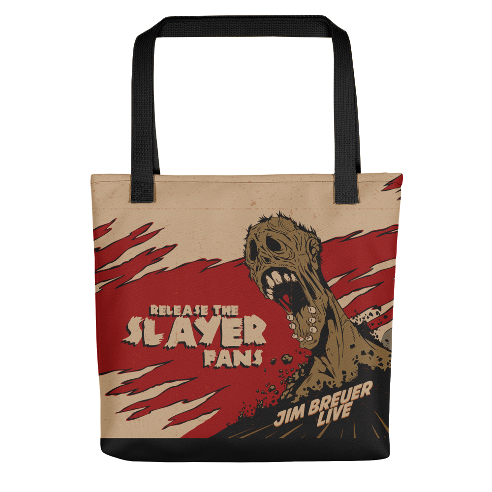 Release the Slayer Fans - Tote