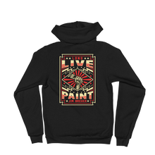 Load image into Gallery viewer, Long Live Paint - Zip Hoodie