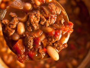 Texas Style Turkey Chili