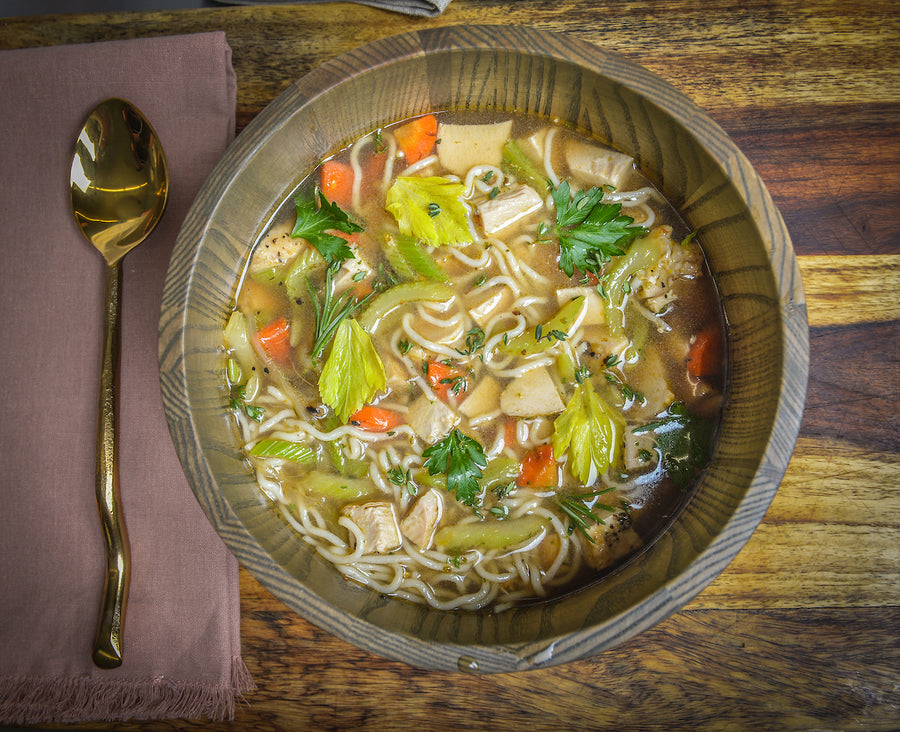 Hearty Homemade Chicken Soup