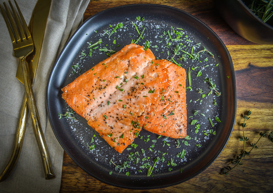 Precision Protein Packs - Pink Pepper Spiced Salmon