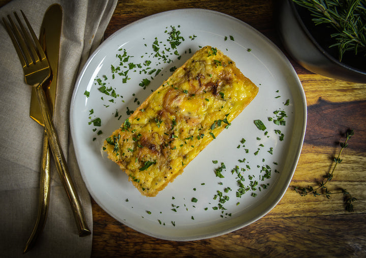 Hello, Breakfast! Seasonal Meat Lover's Quiche