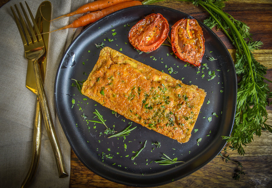 Hello, Breakfast! Soy Chorizo and Chive Vegetarian Quiche