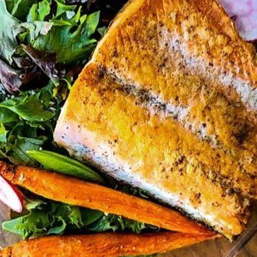 Pink Pepper Spiced Salmon