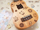 BREADTREE Designer Carving Mahogany Ukulele + Exclusive Gig Bag