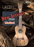 Limited UK-07 2020 Model Spalted Maple Ukulele
