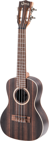 UK-11 Striped Ebony Ukulele
