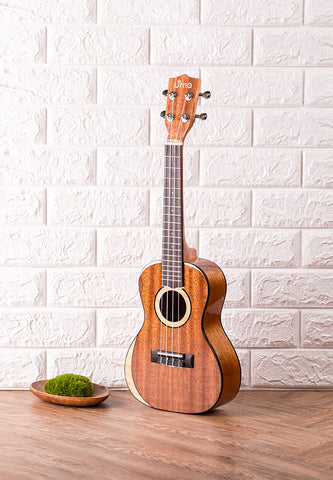 Moon Series Solid Mahogany & Maple Ukulele