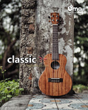 NEW! CLASSIC All Solid Acacia Koa Ukulele / Wooden Tuning Pegs