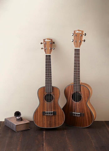 UK-15 Solid Acacia Koa Ukulele