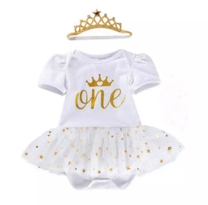 'Sparkle' First Birthday Outfit