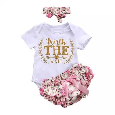 newborn baby girl coming home outfit