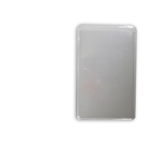 "Clear Vinyl Sheath for Wallet Fit  Imperial 4-5/8"" or Metric 120mm"