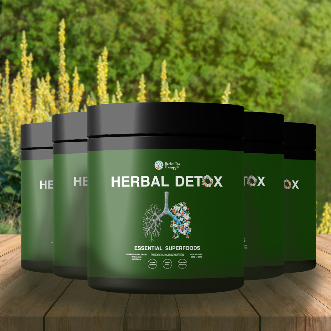 Try 3 tubs + Get 2 FREE! Herbal Detox