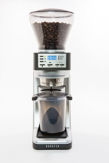 Baratza-Sette270-Grinder-Madison-Wisconsin-Headon Beans and Bin