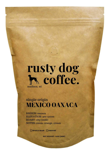 Mexico Oaxaca-coffee-madison-wisconsin- Kraft Bag