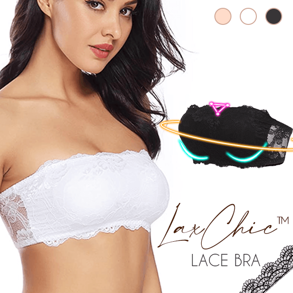 【 Limited time 】LaxChic Lace Bra- Without Fall OFF !!!