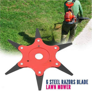 【Last Day 50% OFF】Repurchase The Highest Product!!!6BLADE - STEEL RAZOR BLADE LAWN MOWER