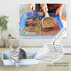 Instant Filter Litter Box Scooper - 50% OFF
