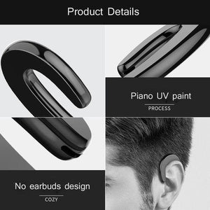 🔥Only $12.99 1 pcs🔥 Bone Conduction Earhook Wireless Bluetooth Earphone