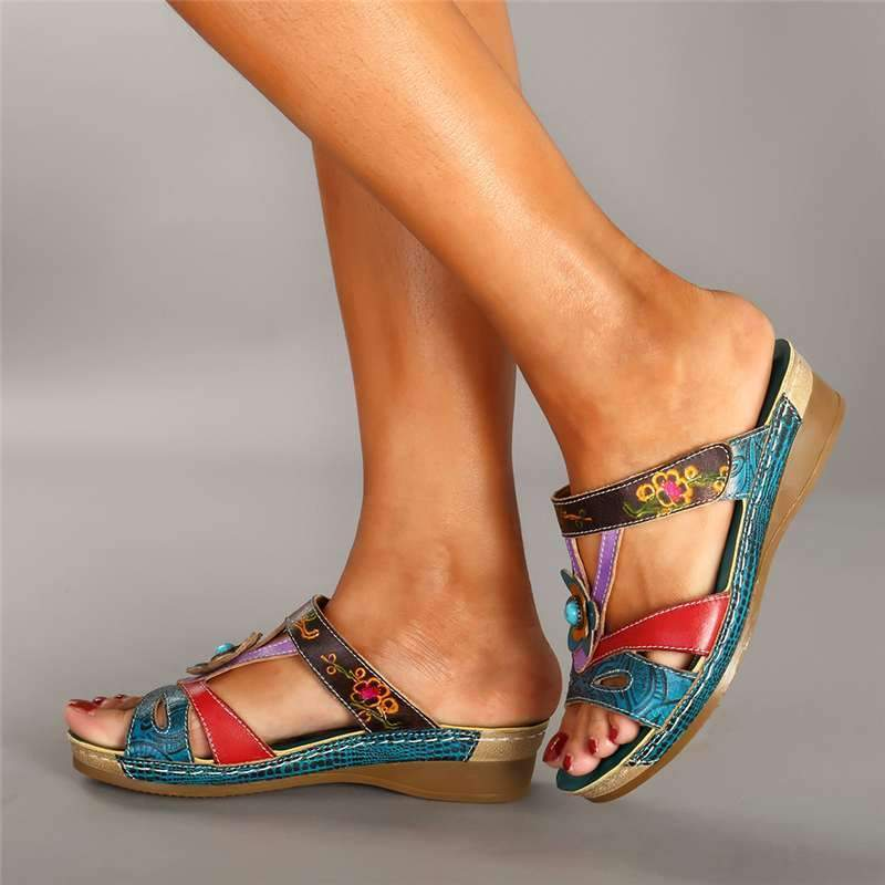 💥Buy 2 Get 20% OFF & Free Shipping💥Vintage Bohemian Women Slippers Low Heel