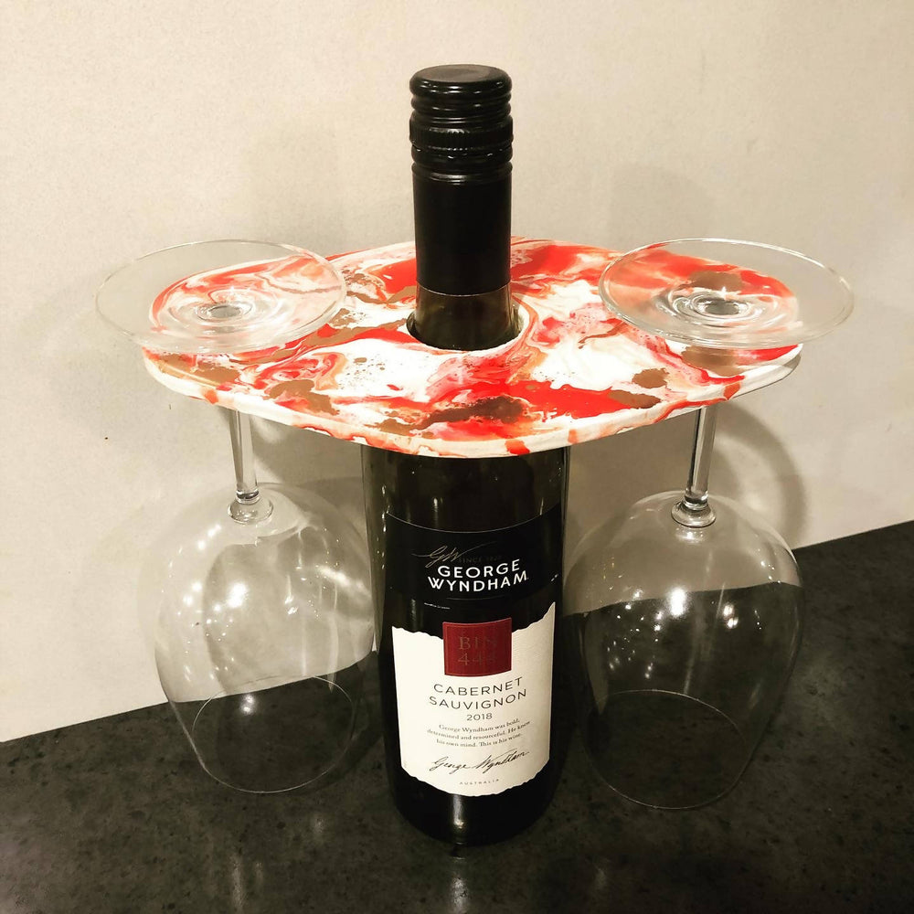 Made to Order - Resin Wine holder-Resin Wine Holder-The Red Road Collective