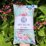 Wheat Heat Bag - Pretty Pastel Garden - Regular-Wheat heat bag-The Red Road Collective