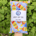 Wheat Heat Bag - Bundy - Regular-Wheat heat bag-The Red Road Collective
