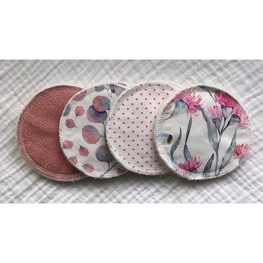 Reusable Breast Pads | 4 Pair Pack | Derry Downs Handmade-Derry Downs Handmade-The Red Road Collective