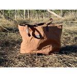 Sandy | Waxed Canvas Bag