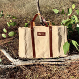 Anna | Waxed Canvas Bag-Little Echidna Home-The Red Road Collective