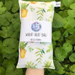 Wheat Heat Bag - Lucky Pineapples - Regular-Wheat heat bag-The Red Road Collective