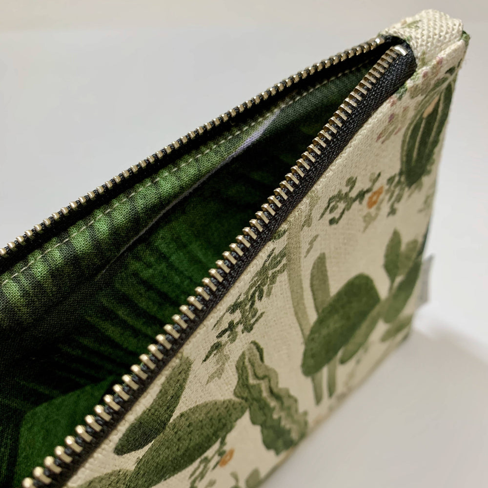 Scattered Four Winds - Handmade Clutch-Large Clutch - Cacti Green-The Red Road Collective