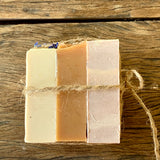Trio of Goat Milk Soaps-Soap-The Red Road Collective