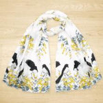 Williewag Tail and Wattle Scarf | ONE ONLY-The Red Road Collective-The Red Road Collective