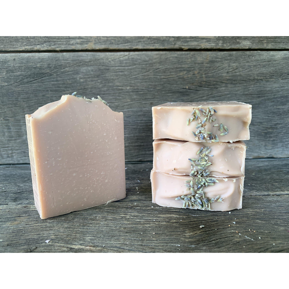 Lavender with Dusky Rose Clay-Red Road Soaps-The Red Road Collective