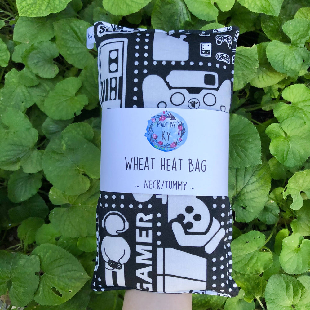 Wheat Heat Bag - Gamer - Regular-Wheat heat bag-The Red Road Collective