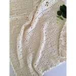 Summer Weight Cotton Baby Blanket & Cotton Bonnet-Amaroo Gifts & Home-The Red Road Collective