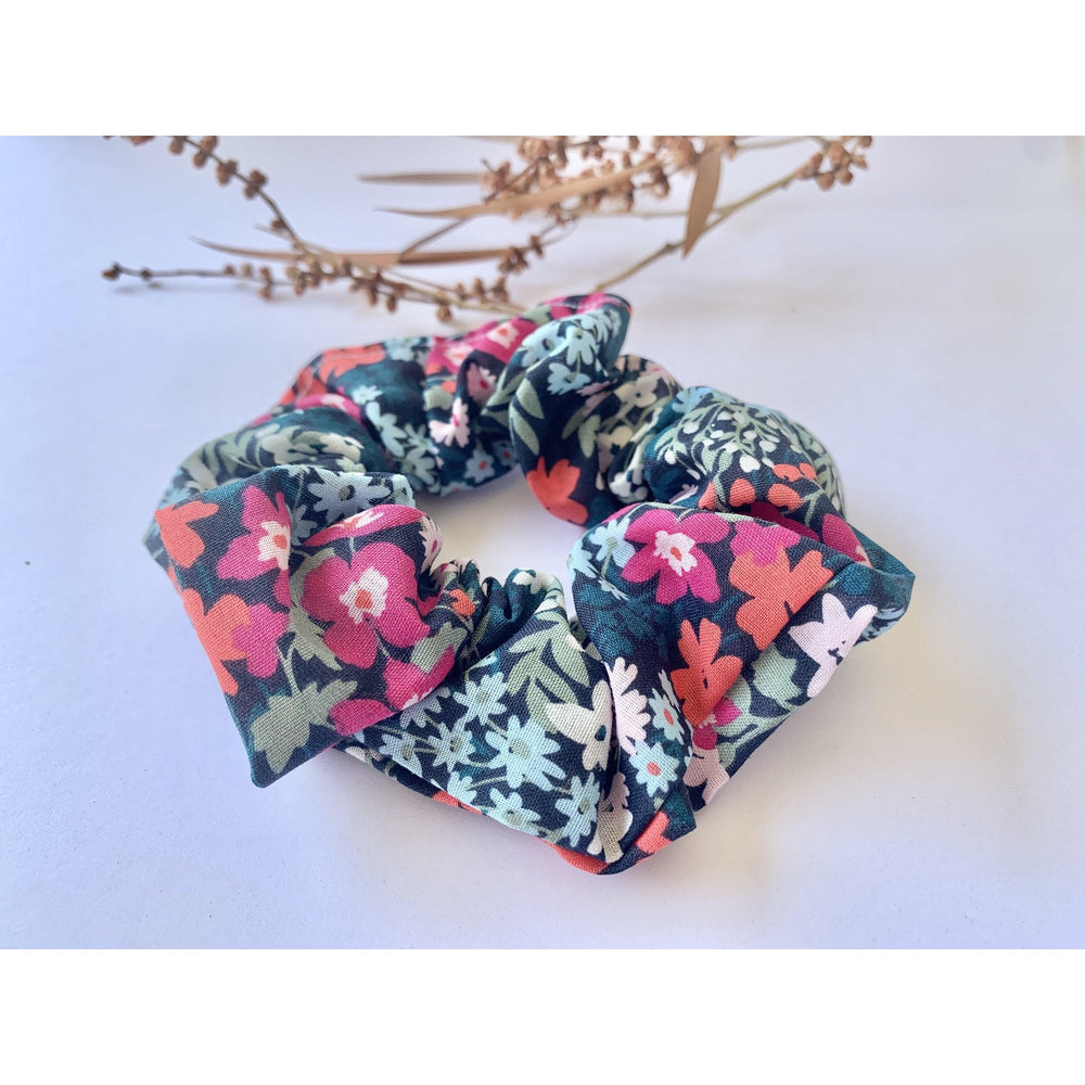 Scrunchie-Blossom Delights-Scrunch it by G-The Red Road Collective