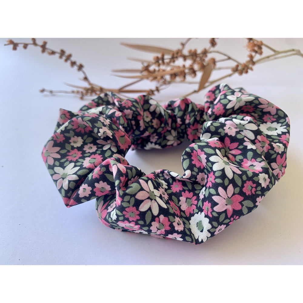 Scrunchie-Pink Petals-Scrunch it by G-The Red Road Collective