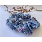 Scrunchie-Bountiful Blues-Scrunch it by G-The Red Road Collective