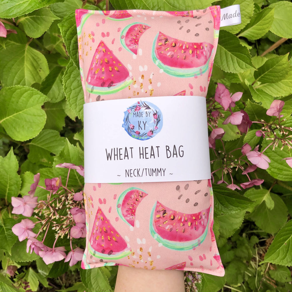 Wheat Heat Bag - Watermelon - Regular-Wheat heat bag-The Red Road Collective