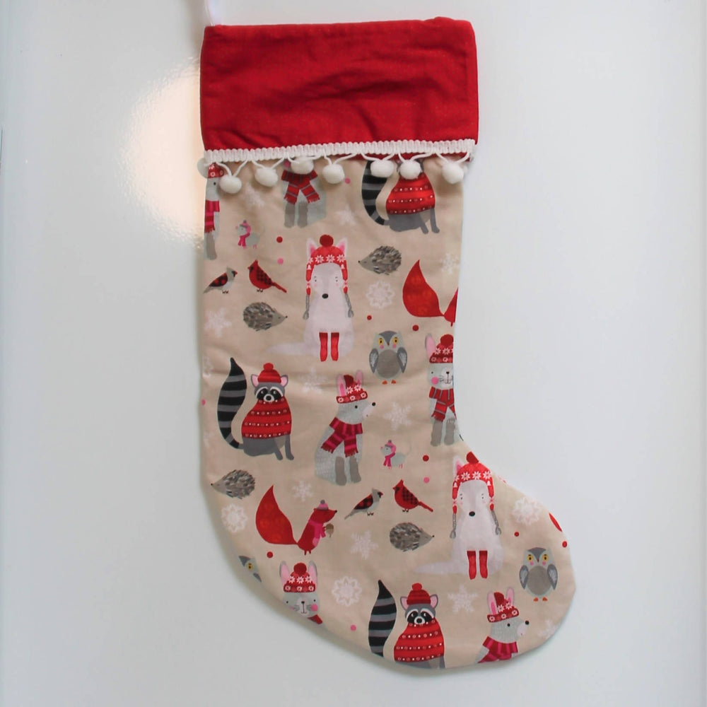Christmas Friends | Christmas Stocking-Christmas Stocking-The Red Road Collective